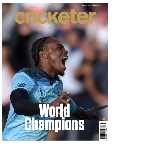 Jofra Archer August cover