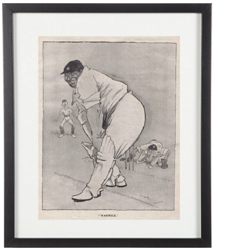 Classic Cricketer Prints - Warwick Armstrong