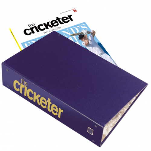 The Cricketer Binder