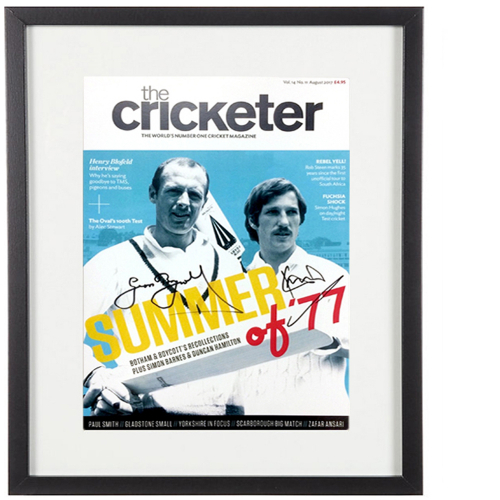 Boycott & Botham Signed Covers - Limited to 50