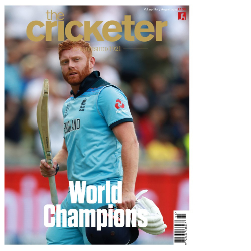 Jonny Bairstow August cover