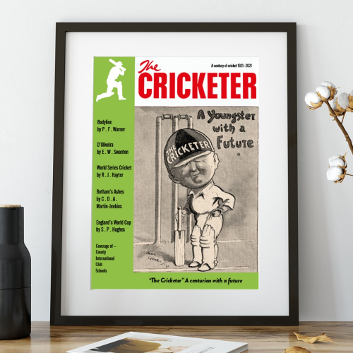 The Cricketer Cover of Covers 1921-2021