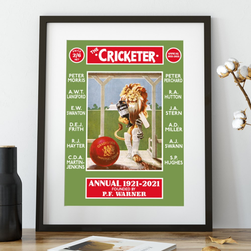 The Cricketer Editors Print