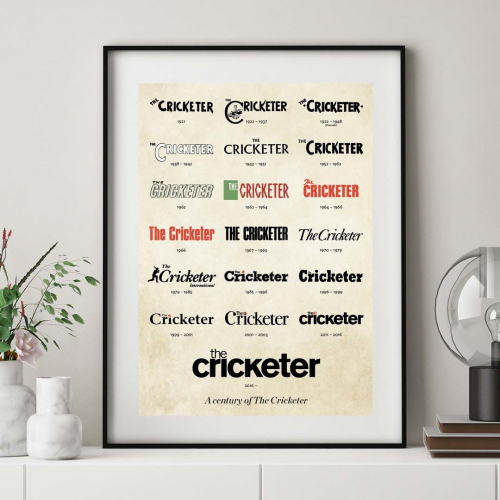 The Cricketer Mastheads Print