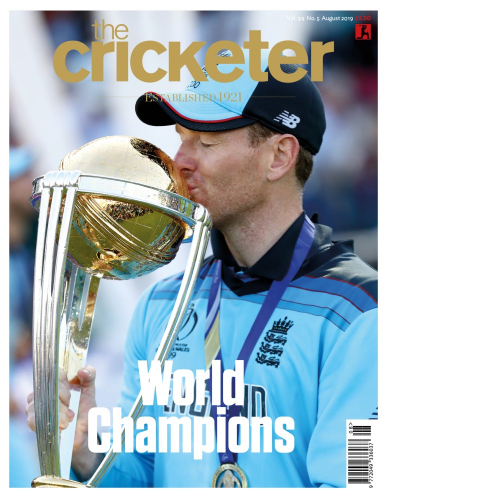 Eoin Morgan August Cover