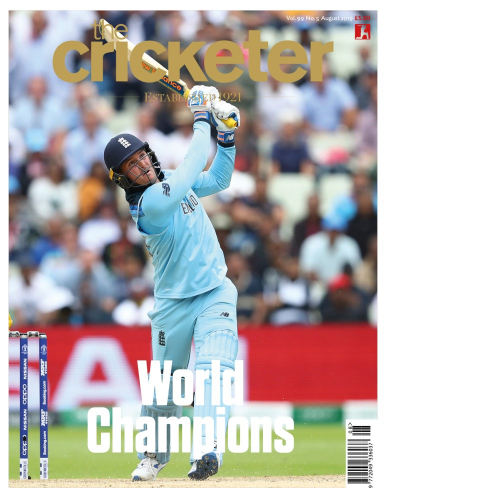 Jason Roy August cover