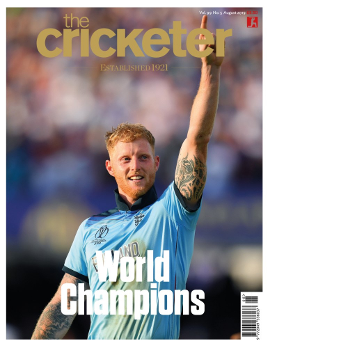 Ben Stokes August cover