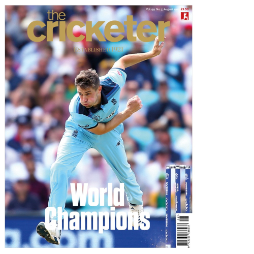 Chris Woakes August cover