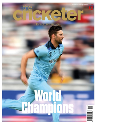 Mark Wood August cover