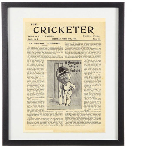 Classic Cricketer Prints - First Issue